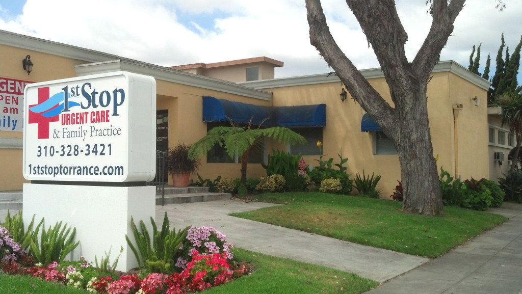 Welcome to 1st Stop Urgent Care and Family Practice in Torrance!
